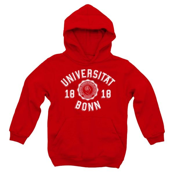 Kids Hooded Sweatshirt, red, georgia