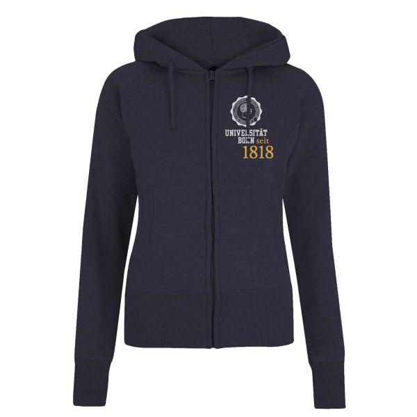 Damen Hooded Jacket, navy, eighteen