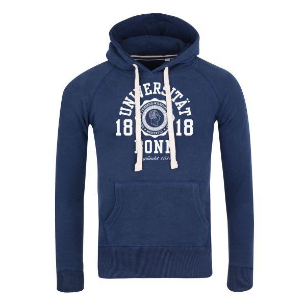 Herren Hooded Sweatshirt, navy, marshall