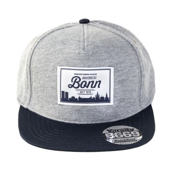 Cap, heather grey, Label