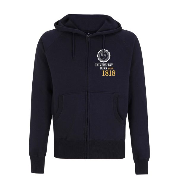 Herren Hooded Jacket, navy, eighteen