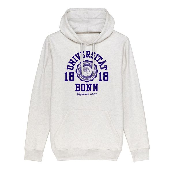 Unisex Hooded Sweatshirt, cream heather grey, marshall
