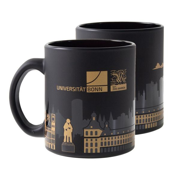 Limited Mug, black/gold, Jubiläum