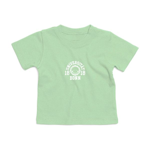Baby T-Shirt, mint, smile