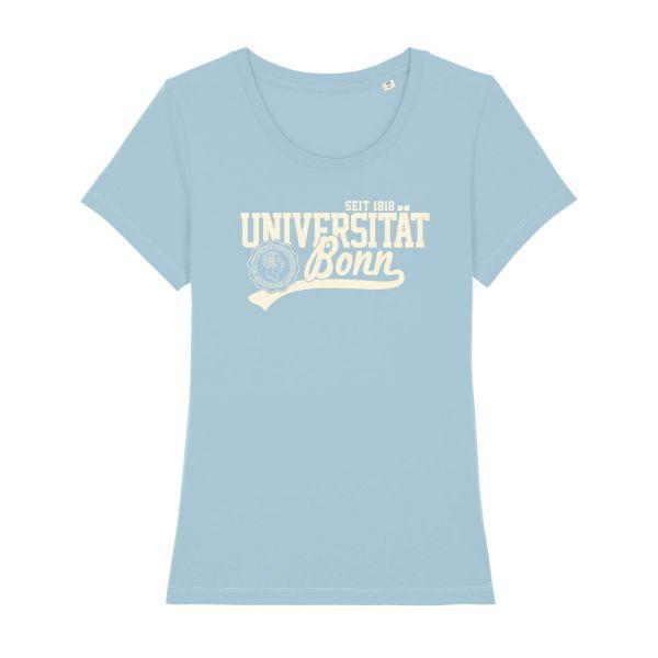 Damen Organic T-Shirt, sky blue, L.A.